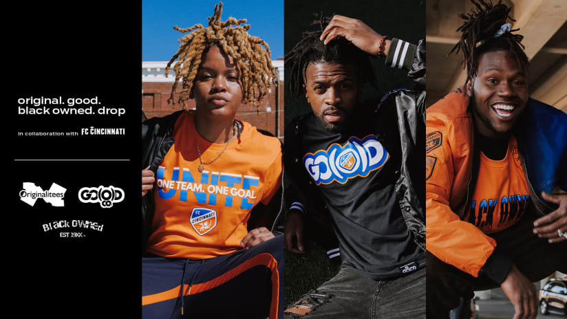 FC Cincinnati partner with local Black-owned businesses on limited-edition gear for fans
