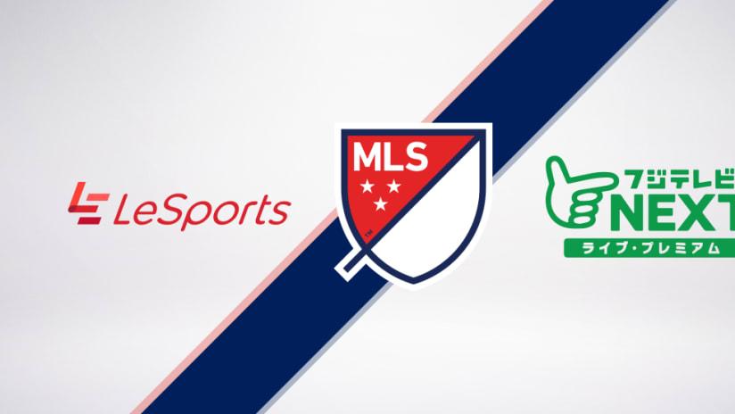 TV logos Le Sports Fuji TV