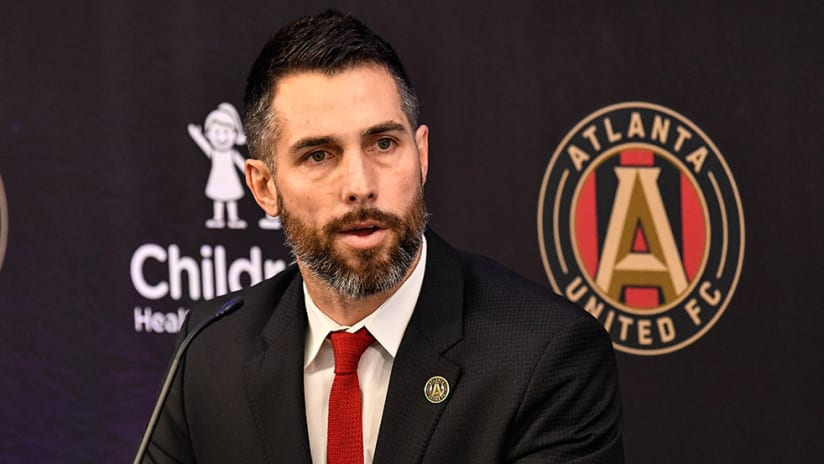 Carlos Bocangera - Atlanta United - press conference