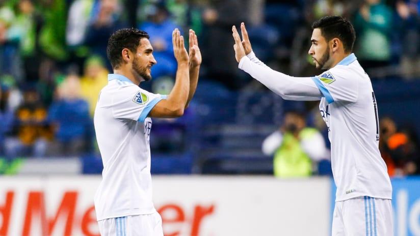 Broldons Alex and Cristian Roldan - Seattle Sounders