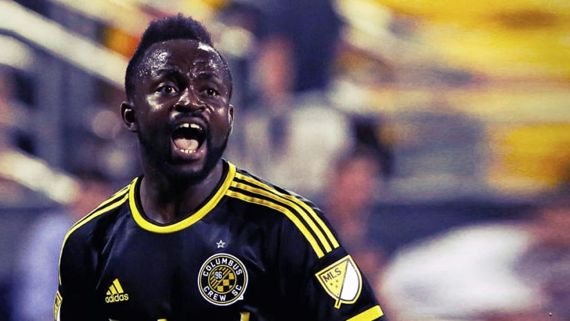 Cedrick Mabwati - Columbus Crew SC - Screams after a goal