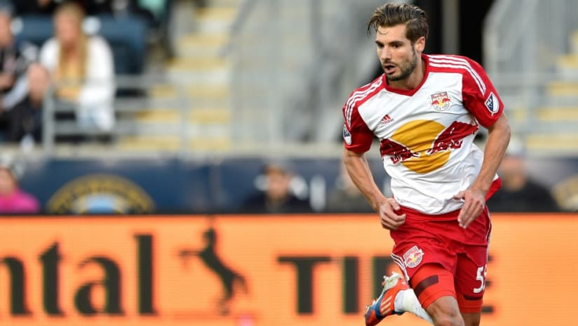 Damien Perrinelle - New York Red Bulls - isolated