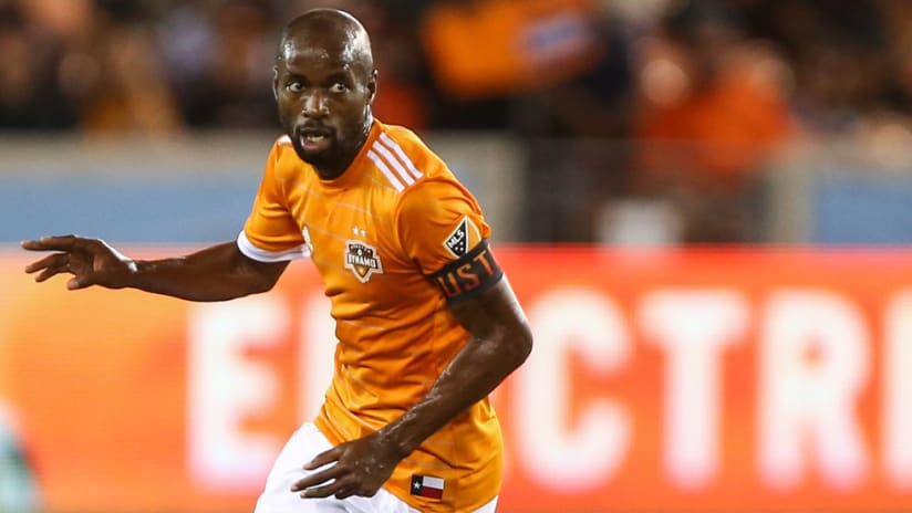 DaMarcus Beasley - Houston Dynamo - close-up - in action - 2018