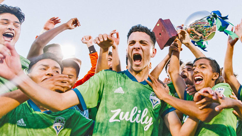 Seattle Sounders - GA Cup win