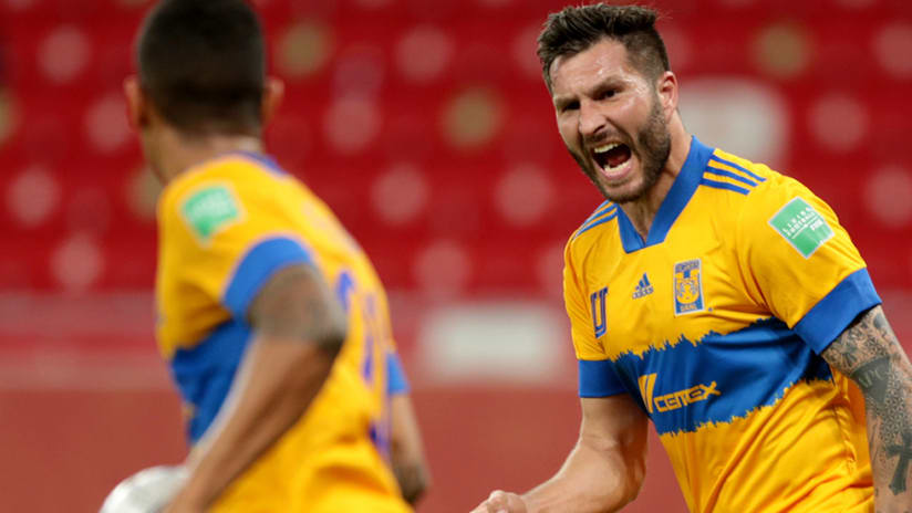 Andre-Pierre Gignac - Tigres UANL - Club World Cup celebration