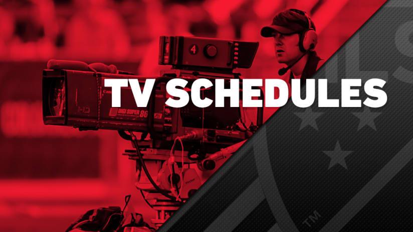 2016 Schedule Release - Broadcast TV Schedules