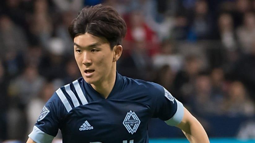 Hwang Inbeom - Vancouver - tight shot blue jersey