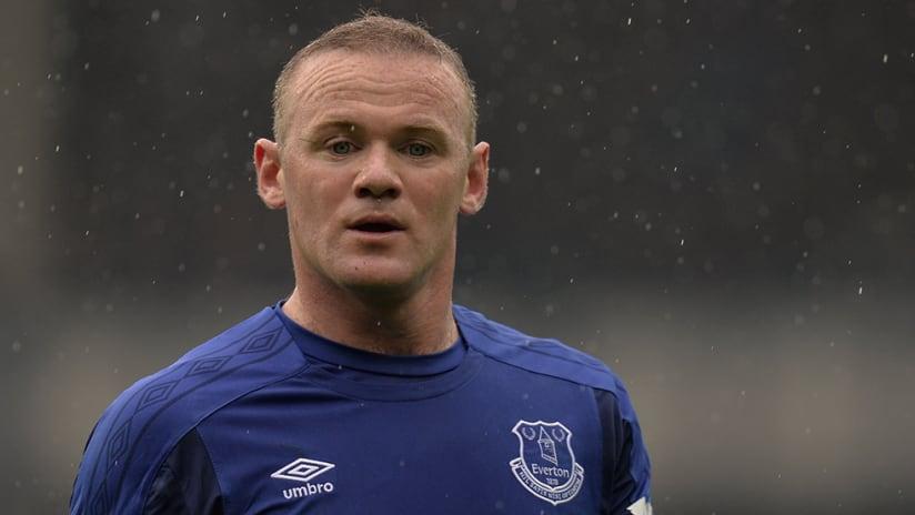 Wayne Rooney - Everton - Close up