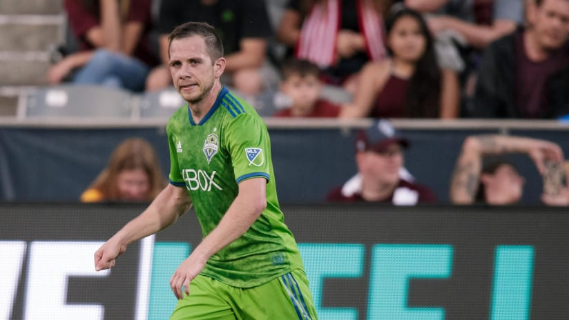 Harry Shipp - Seattle Sounders - On the ball