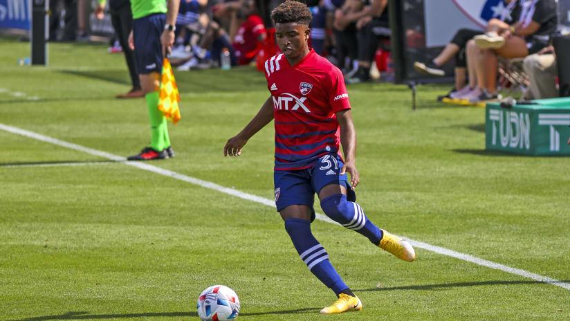 Dante Sealy FC Dallas