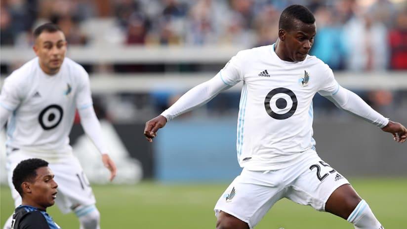 Darwin Quintero –Minnesota United –dribbling