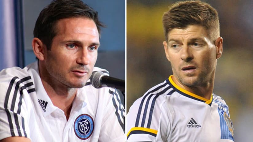All-Star Game - 2015 - Frank Lampard and Steven Gerrard