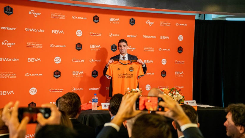 Ted Segal's chief aim with Houston Dynamo FC? Build a winning team