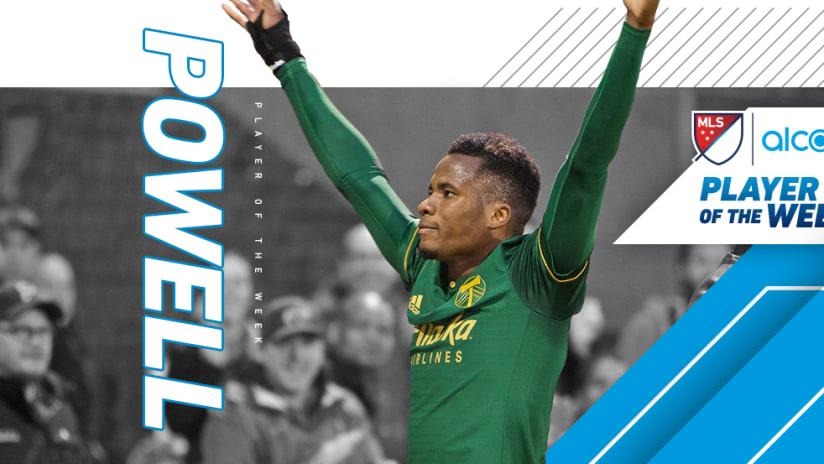 Alvas Powell — Portland Timbers —Player of the Week, Week 7