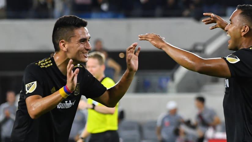 Eduard Atuesta and Eddie Segura - LAFC