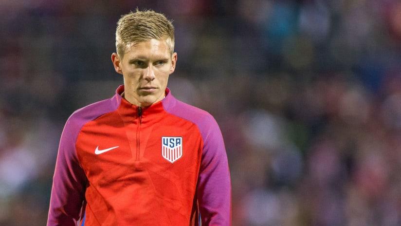 Aron Johannsson - US national team - November 2016