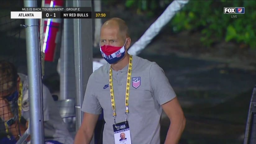 Gregg Berhalter - MLS is Back Tournament - masked