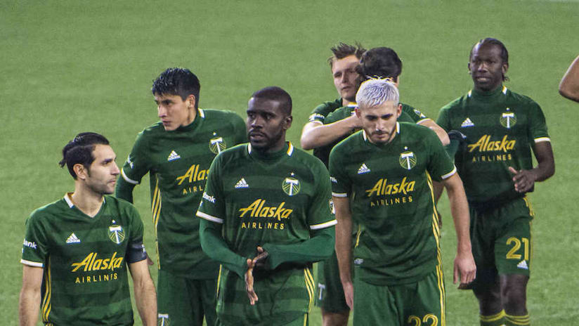 Portland Timbers exit field after PK defeat to FC Dallas