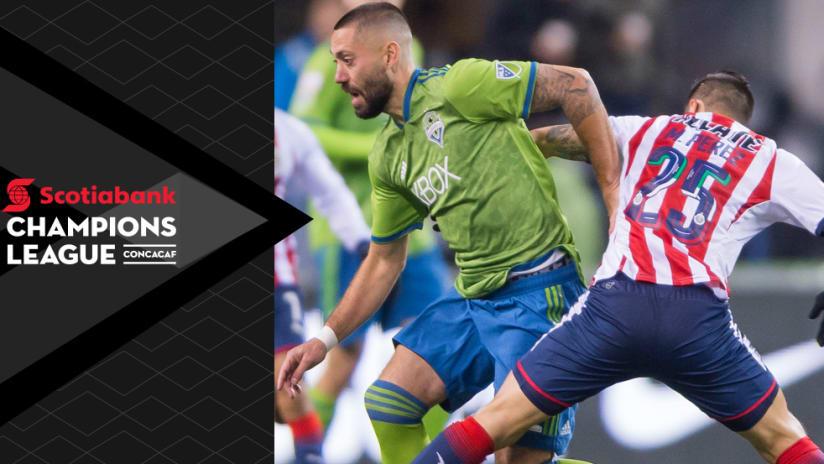 2018 CCL - Clint Dempsey - Seattle Sounders - Chivas