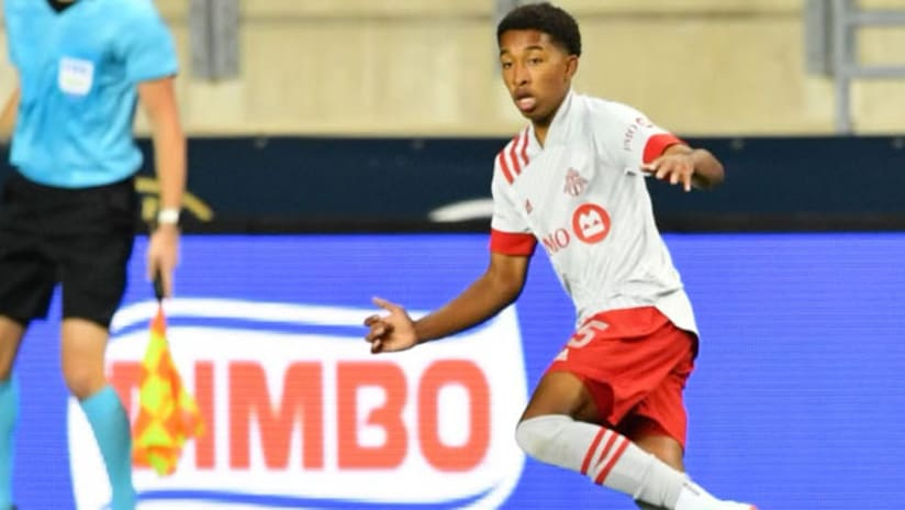 Jahkeele Marshall-Rutty - Toronto FC - cropped in