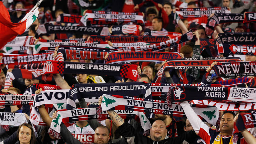 New England Revolution - Supporters' - Scarves