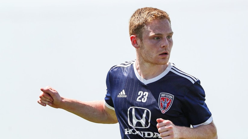 Tyler Pasher with Indy Eleven - Houston Dynamo