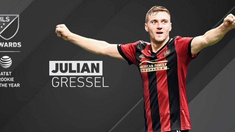 2017 Awards - Rookie of the Year - Julian Gressel