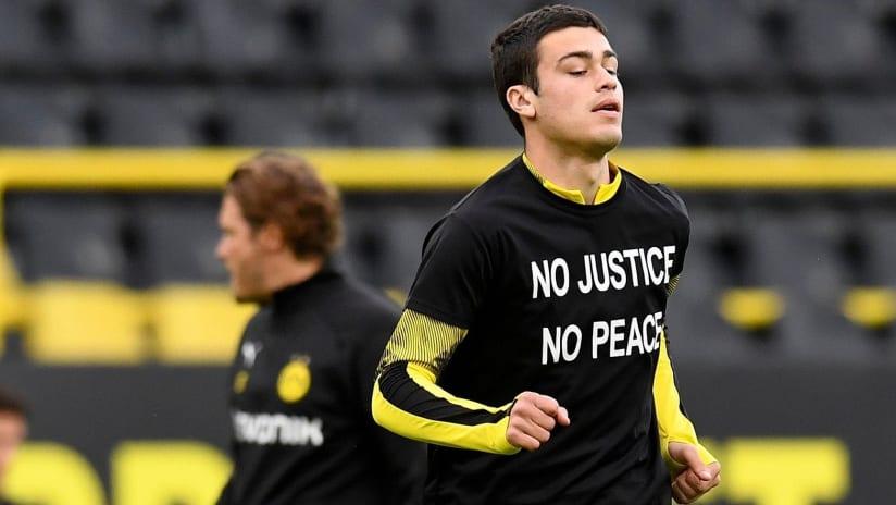 Gio Reyna - No Justice No Peace shirt