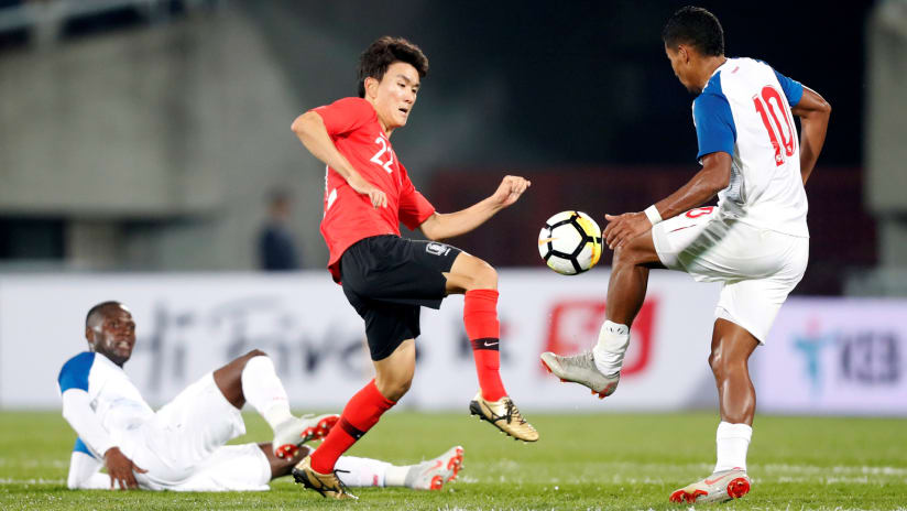 Hwang In-beom - Vancouver Whitecaps - playing for South Korea vs. Panama