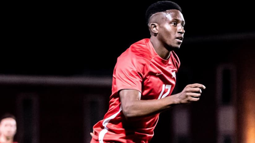 Eddie Munjoma - FC Dallas - Homegrown signing