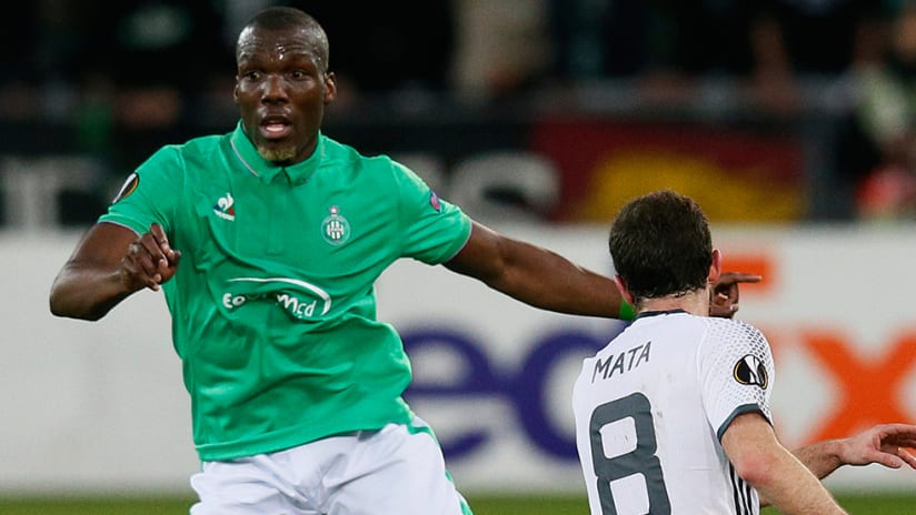 Florentin Pogba - with St Etienne