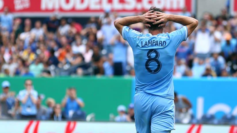 Frank Lampard - New York City FC - Hands on Head Bummed