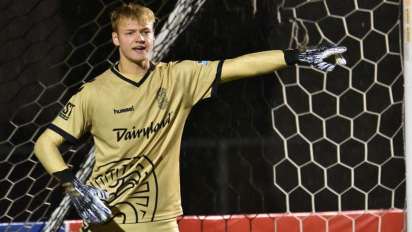 Chris Brady - Chicago Fire FC - Forward Madison - on loan - 2020