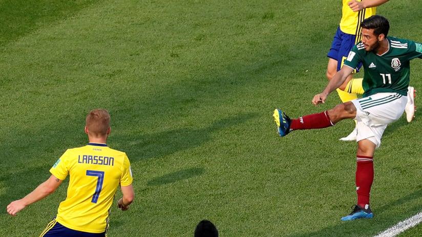 Carlos Vela - Mexico - vs. Sweden, World Cup