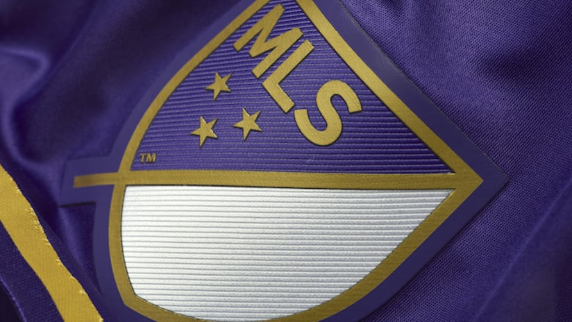 Orlando City 2016 seconday jersey MLS crest detail