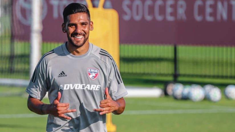 Franco Jara - FC Dallas - Training