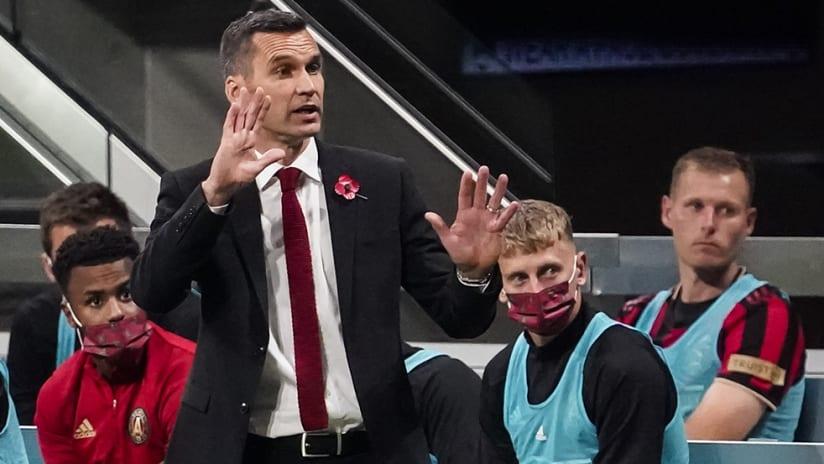 Stephen Glass - Atlanta United - hands up