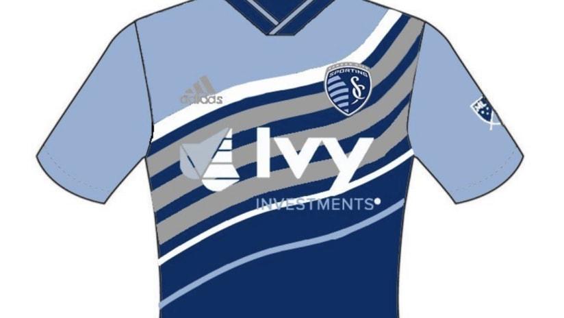 EMBED ONLY - Sporting KC fan jersey design