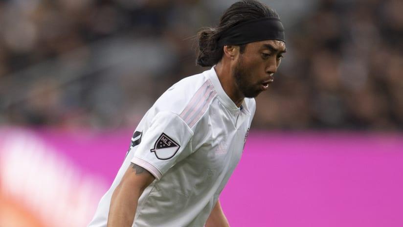 Lee Nguyen - Inter Miami - tight shot