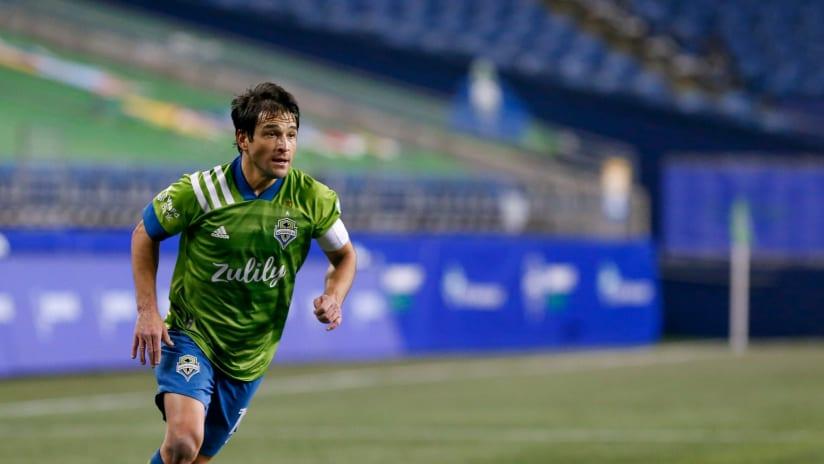 Nicolas Lodeiro - Seattle Sounders - Running