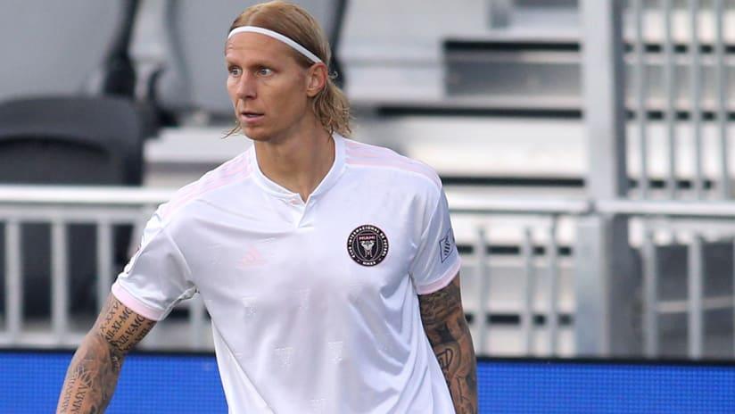 Brek Shea - Inter Miami - head up
