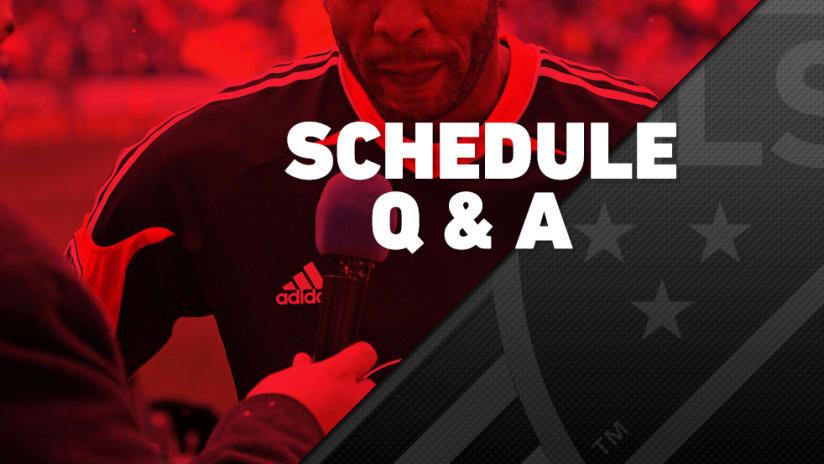 2016 schedule - Q-&-A - 1/07/2016