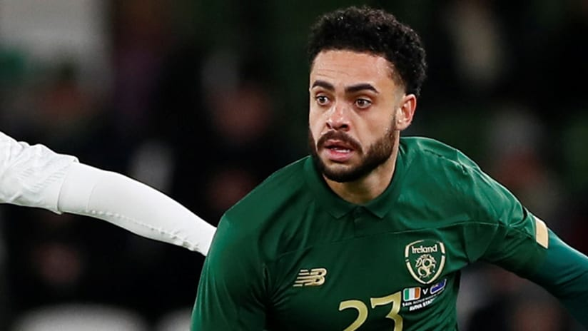 Derrick Williams - Ireland - national team