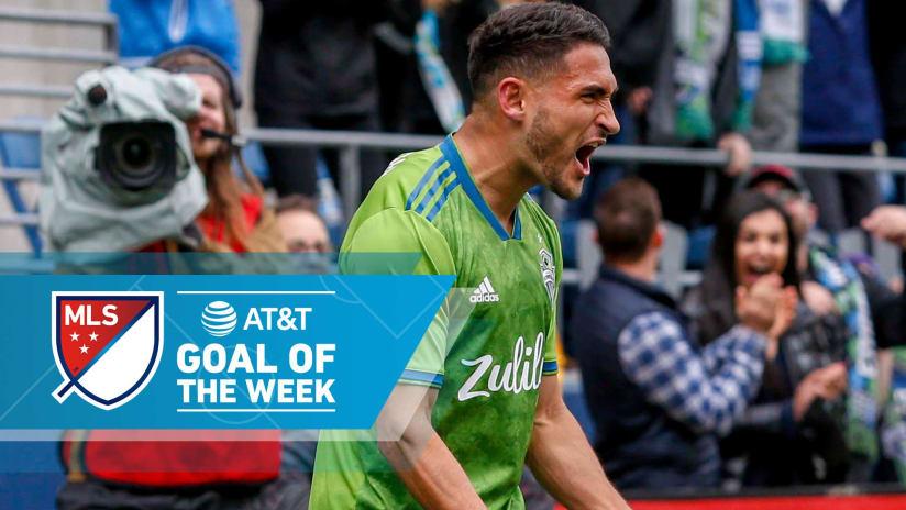 AT&T Goal of the Week - Week 10 - 2019 - Cristian Roldan