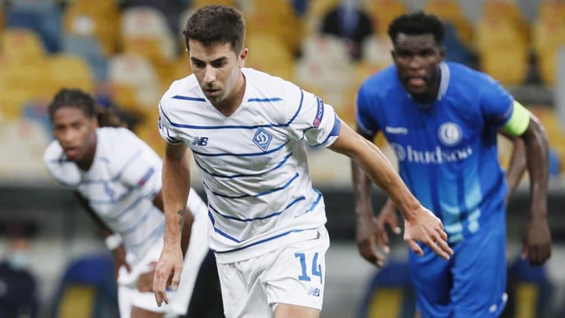 Carlos de Pena - Dynamo Kyiv - penalty kick