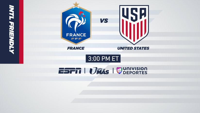ExLink - 06/09/18 - USMNT vs France