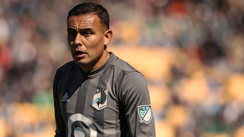 Miguel Ibarra - Minnesota United - Close up