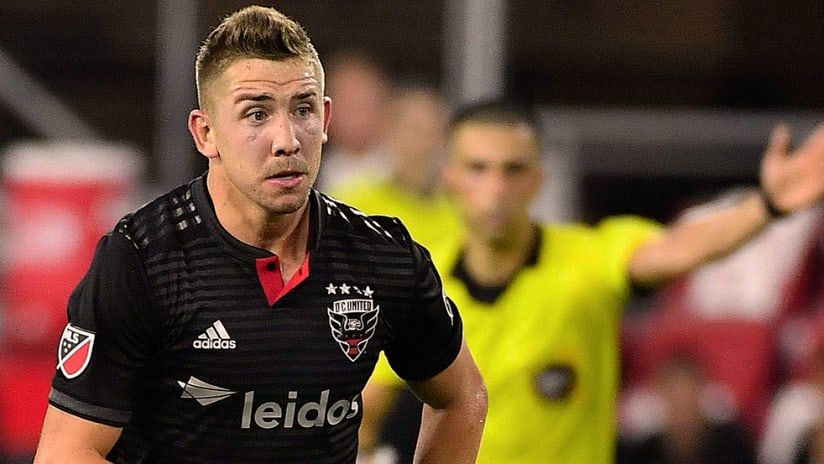 Russell Canouse - DC United - Close up