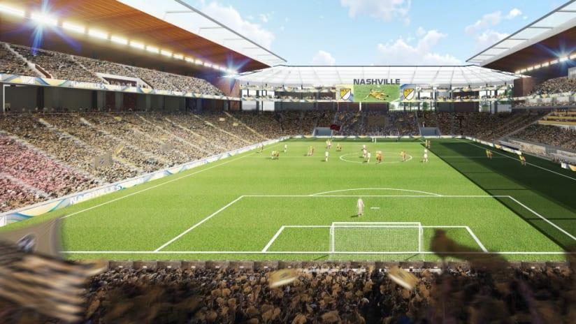 Nashville proposed stadium rendering - 8/14/17