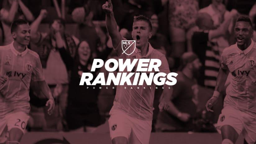 Power Rankings - Sporting Kansas City - celebrating